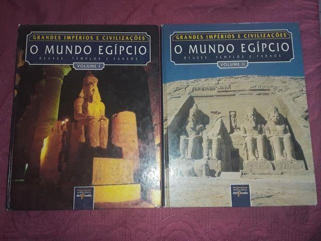 Livros Coleção Grandes Impérios e Civilizações Egito e Grécia