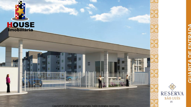 Condominio Reserva São Luis, dimensão