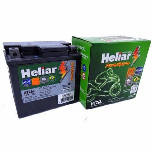 Bateria Heliar (NOVA)