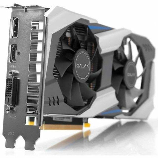 Placa de Vídeo Galax Geforce GTX 1060, OC 3GB - Foto 2
