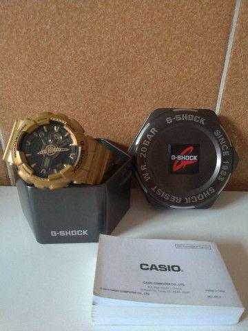 Relógio Casio  G-Shock Dourado  - Foto 2