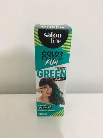Tinta temporária para cabelo
