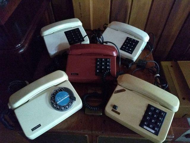 Telefones antigos a partir de 80 cada !!! - Foto 4