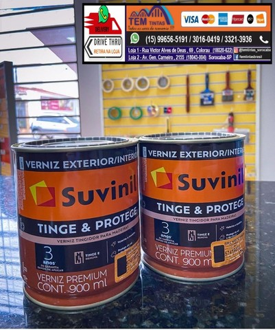 !!!!Tinge & protege #verniz premium