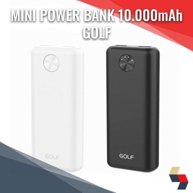 Mini carregador portátil 10.000mAh Golf