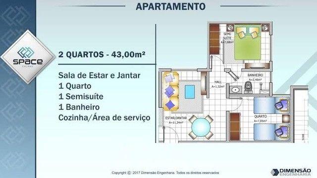 Alugo Apartamento Space Calhau  - Foto 3