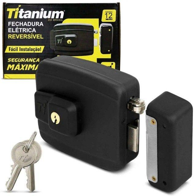 Fechadura eletrica titanium
