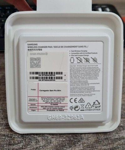 Carregador Rápido Sem Fio Original Samsung Slim Fast Charger - Foto 2