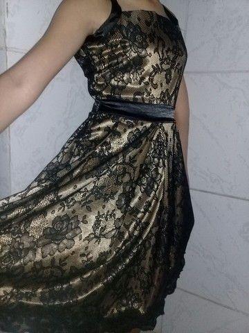 Vestido usado apenas uma vez!