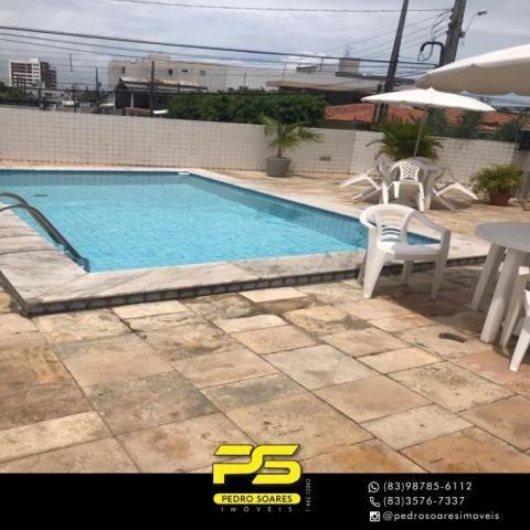 Apartamento com 3 dormitórios à venda, 90 m² por R$ 300.000 - Jardim Cidade Universitária  - Foto 13