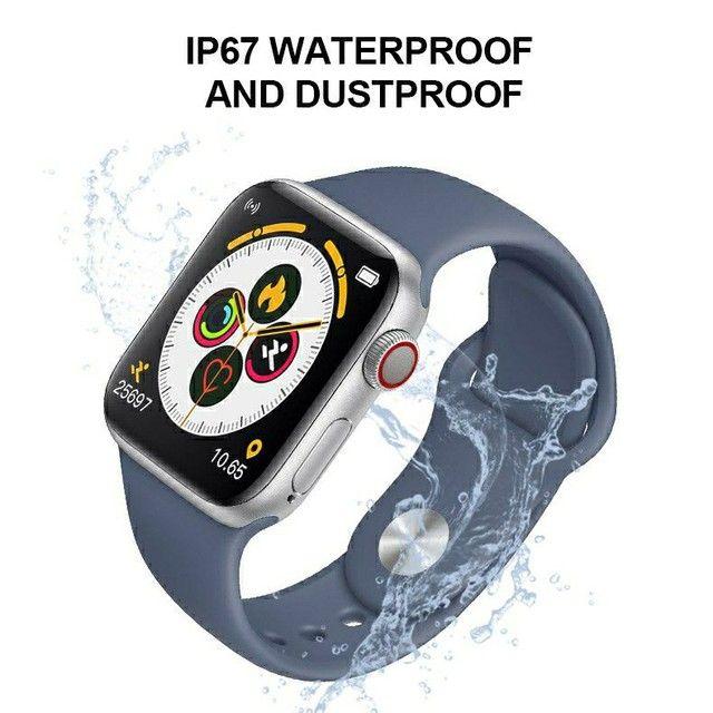 T500 smartwatch resistente a água  - Foto 4