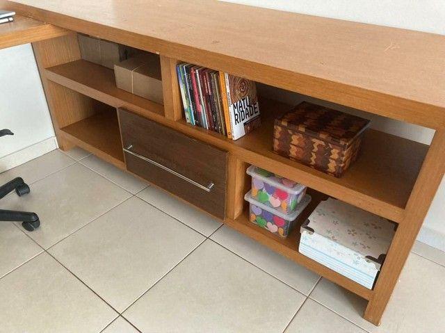 Escrivaninha de madeira (Para trabalho e/ou estudos)  - Foto 3