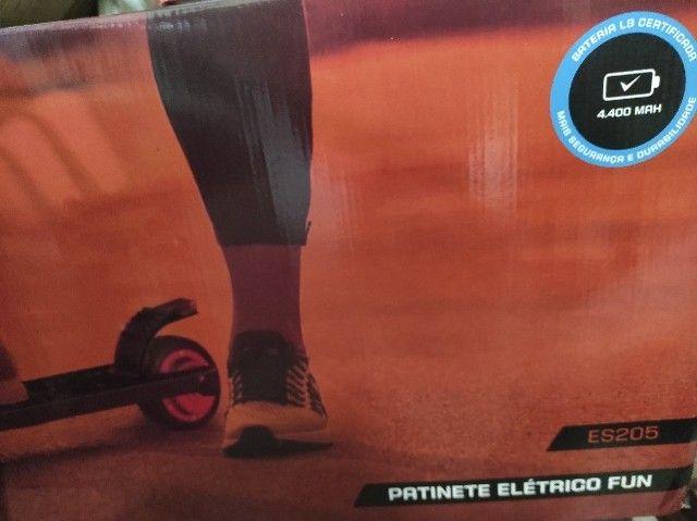 Patinete Elétrico Fun ES205 Preto R$ 1200 (Novo) - Foto 2