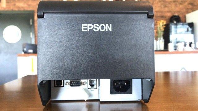 Impressora Térmica Epson TM-T20X, Não Fiscal, USB, Guilhotina - C31CH26031 - Foto 2