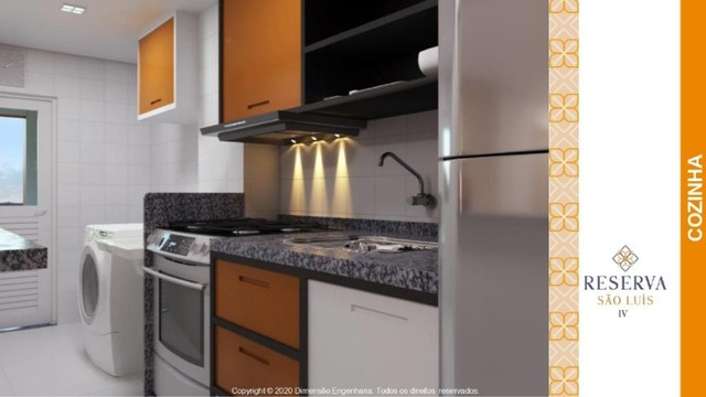 reserva são luís, 2 dormitórios// condomínio dimensão - Foto 4