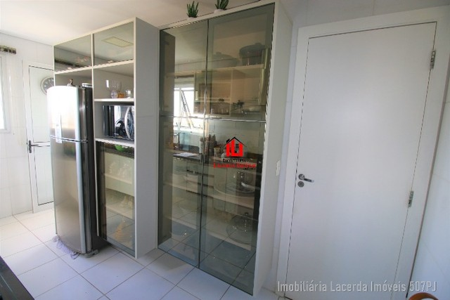 Apartamento 3 suítes, 134m², Andar Alto, Financia, Varanda Churrasqueira - Foto 5