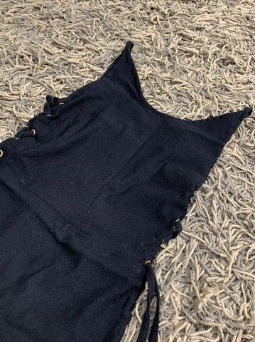 Vestido Justo Preto - Foto 2