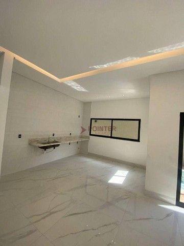 Casa com 3 dormitórios à venda, 220 m² por R$ 1.480.000,00 - Portal do Sol - Goiânia/GO - Foto 4