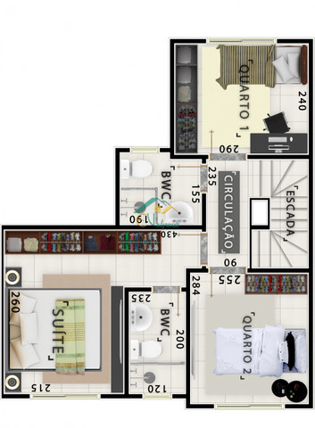 Casa à venda com 3 dormitórios em Bairro alto, Curitiba cod:SOC0007 - Foto 12