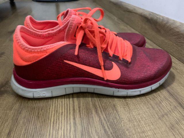 Tênis Nike Free 3.0 feminino pouco uso  - Foto 4