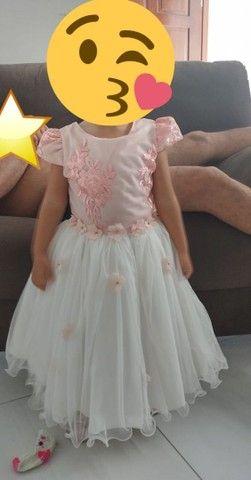 Vestido infantil de festa - Foto 2