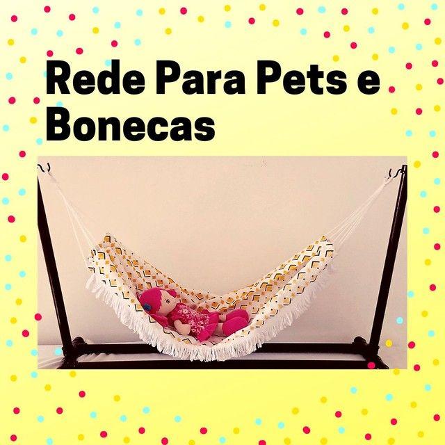 Linda Rede de Dormir  Para Pets, Gatos, Bonecas