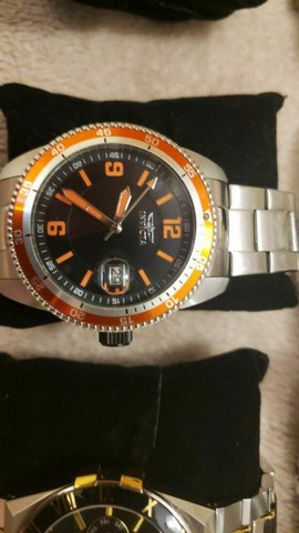Dois Relógios Automáticos da marca Invicta - perfeitos