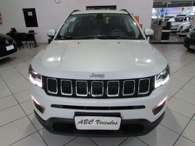 jeep compass 2018 branca perola longitude 2 0 flex com. Black Bedroom Furniture Sets. Home Design Ideas