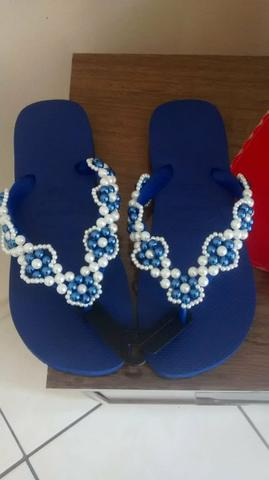 f6d6f7884 Vendo chinelos bordados - Roupas e calçados - Piratininga, Ibirité ...