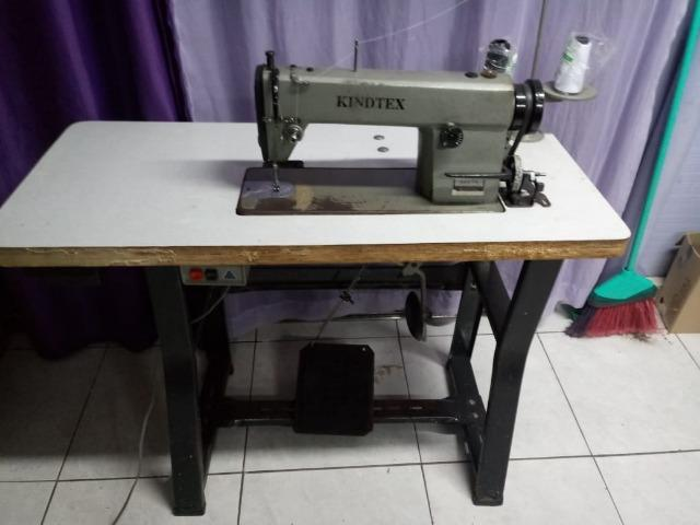 Máquina De Costura Semi Reta Industrial KindTex