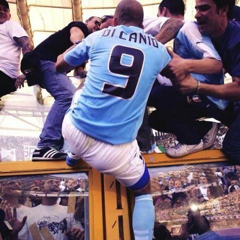 Camisa da Lazio #9 Di canio - Foto 3