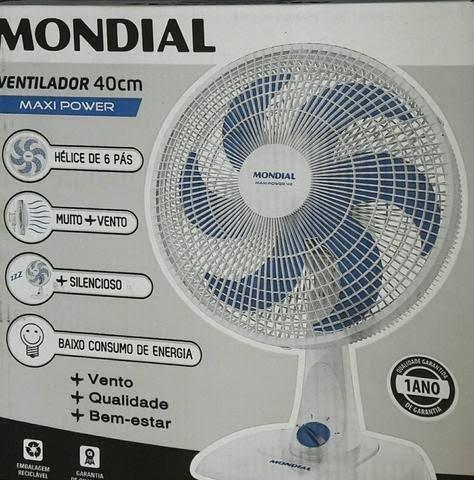 Ventilador Mondial 40cm 6 pás 110v
