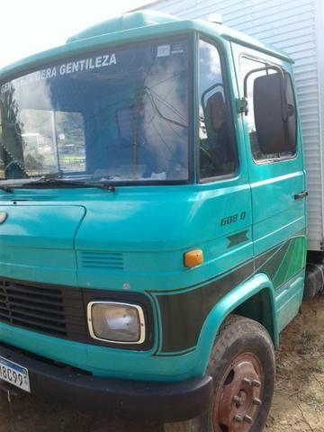 Caminhão bau 608 ano 78 - Foto 6