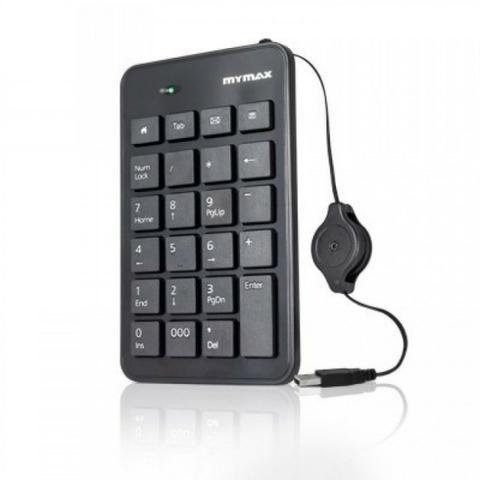 Teclado Numérico Mymax USB/Retrátil