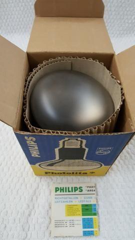 Lâmpada fotográfica antiga, grande, vintage Photolita 500W