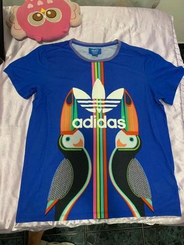 Tshirt Adidas Originals x Farm Estampada Tukano Tam M