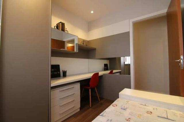Apartamento sacada com churrasqueira excelente localização