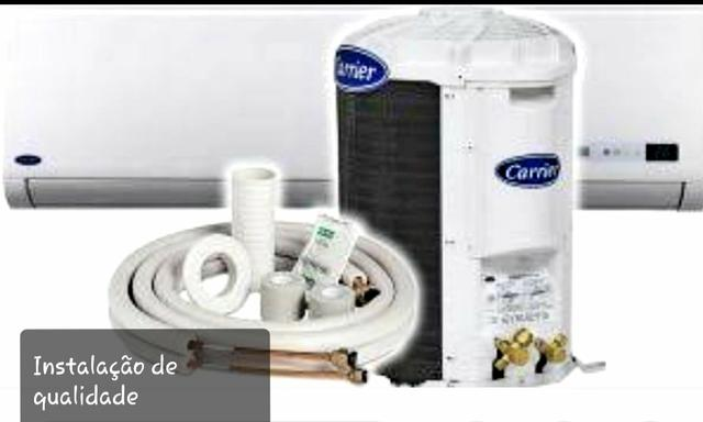 Instalação de Ar condicionado Split. conserto. manutenção