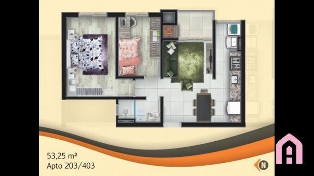 Apartamento à venda com 2 dormitórios em São josé, Flores da cunha cod:143 - Foto 10