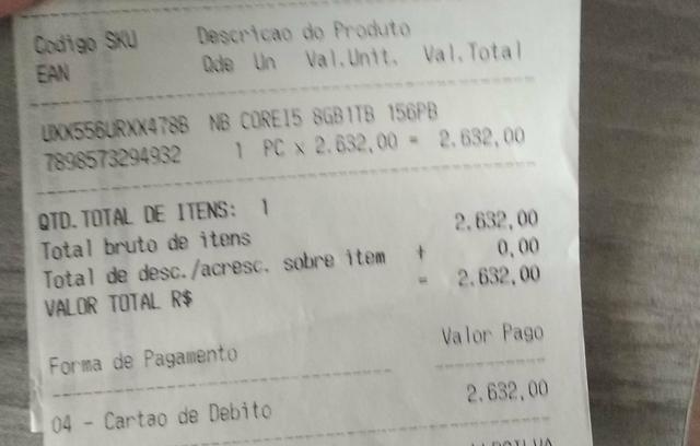 Notebook Asus vendo ou troco - Foto 5