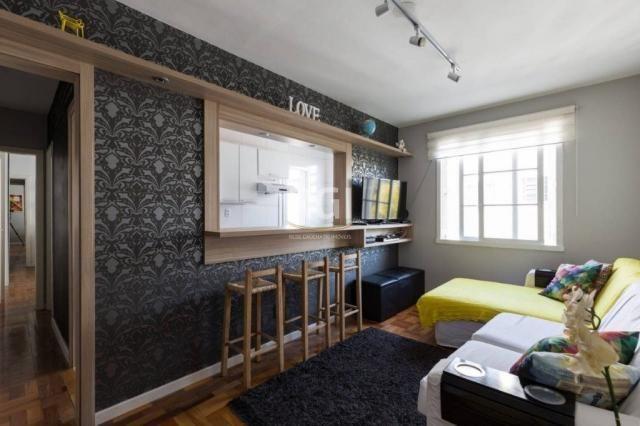Apartamento à venda com 1 dormitórios em São joão, Porto alegre cod:HT207