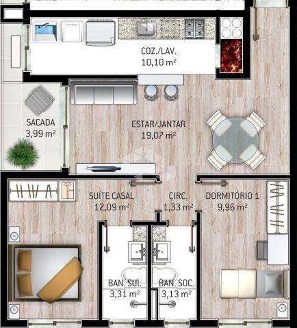 Apartamento à venda com 2 dormitórios em Centro, Garibaldi cod:9908521 - Foto 4