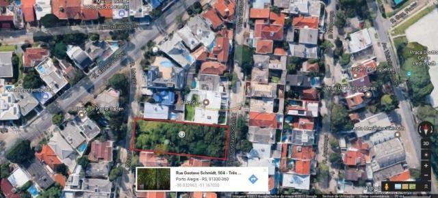 Terreno à venda em Três figueiras, Porto alegre cod:LI50877747 - Foto 2