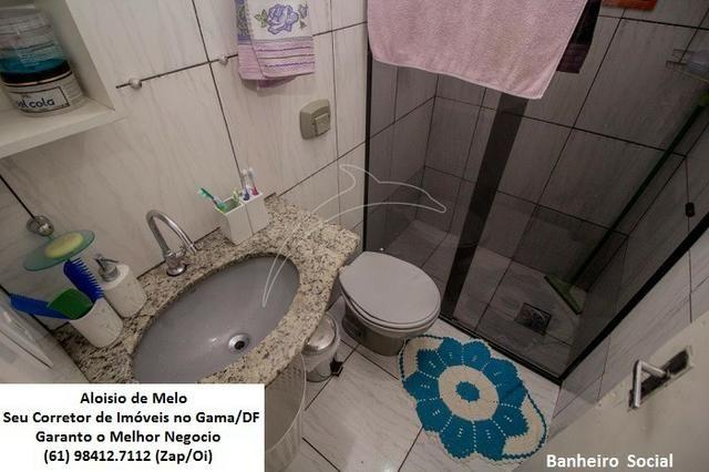 Aloisio Melo Vde: Q. 33 S/Leste, 2 Casas; Sala, Cozinha, 3 Qtos, Ac. Financiamento/FGTS - Foto 15