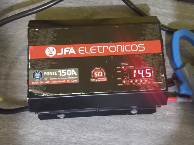 Fonte automotiva Jfa 150a sistema inteligente de carregamento mantenha seu som ligado - Foto 3