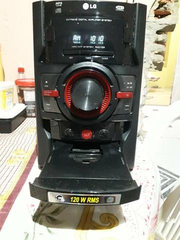 Vendo um mini hi-fi system LG ( para retirada de peças) - Foto 2