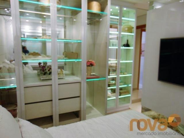 Apartamento à venda com 3 dormitórios em Setor pedro ludovico, Goiânia cod:NOV91510 - Foto 14