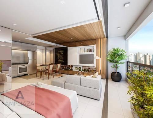 Apartamento com 2 dormitórios à venda, 37 m² por r$ 321.000 - aldeota - fortaleza/ce - Foto 9