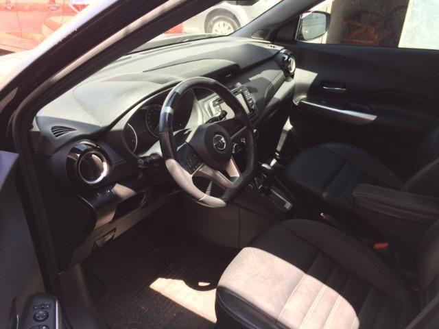 Nissan Kicks Sv 1.6 16v FlexStar 5portas Aut Preto Banco de Couro - Foto 5