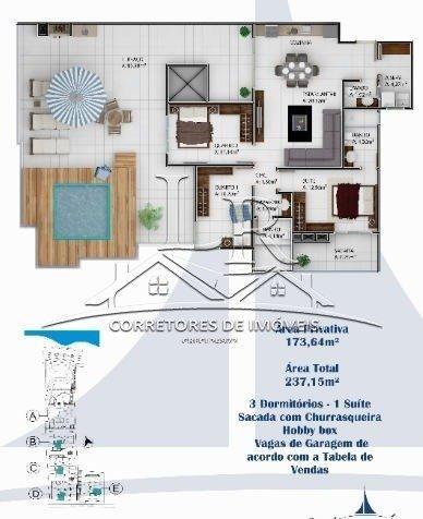 Apartamento à venda com 3 dormitórios em Praia dos ingleses, Florianópolis cod:1635 - Foto 15